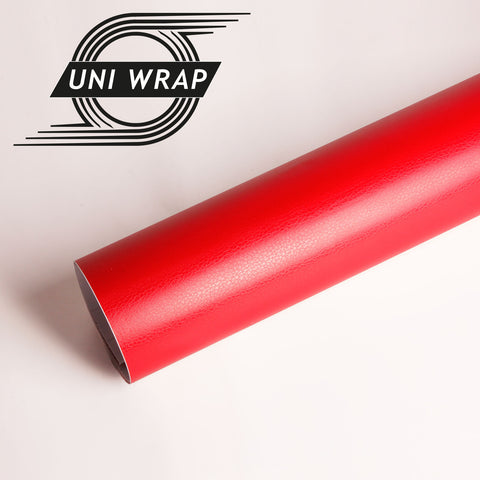 Uni Wrap Leather Vinyl 'Red'