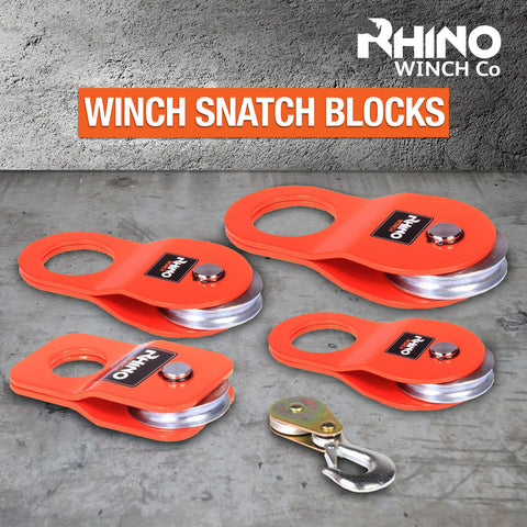 Rhino Winch Snatch Block