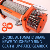 Rhino 13500lb Winch with Steel Cable