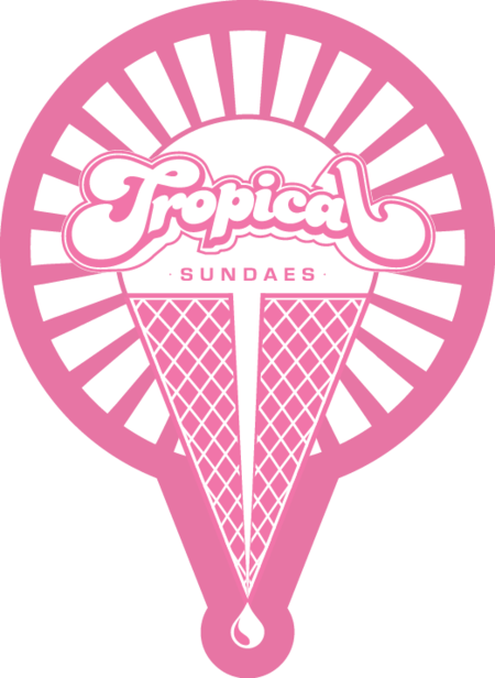 Tropical Sundaes