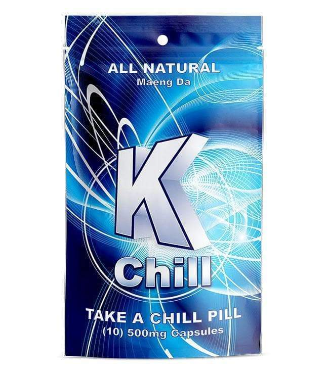 K-Chill Blue 10ct Capsules. Progressive Discounts Available! - KCD Store