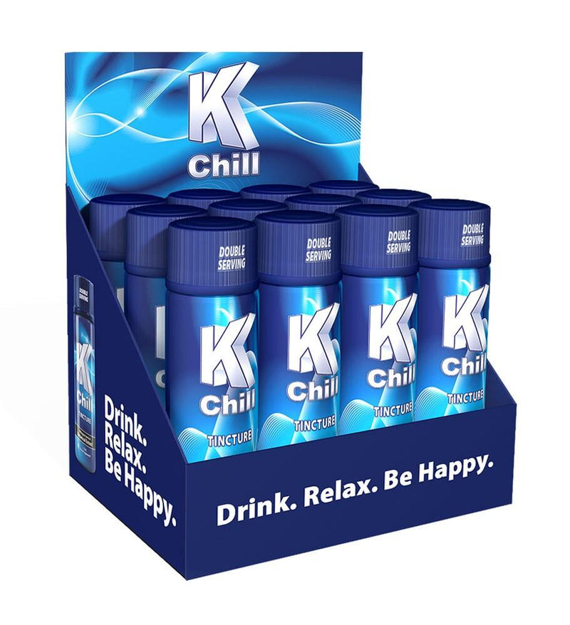 K-Chill Blue 15ml Extract Shot. Progressive Discounts Available! - K-Chill Direct