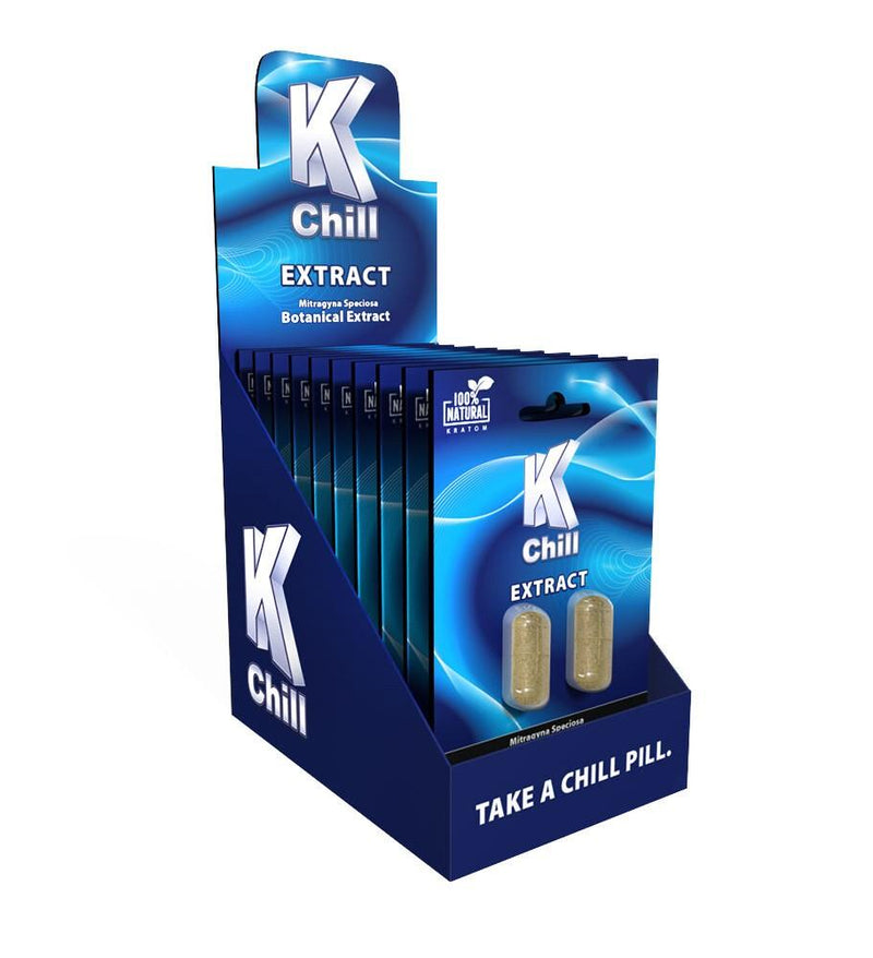 K-Chill Blue Extract Caps. Progressive Discounts Available! - K-Chill Direct