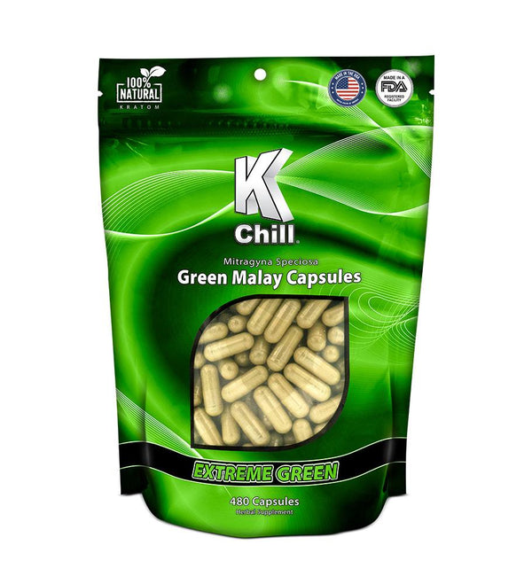 K-Chill Green 480ct Capsules. Progressive Discounts Available! - K-Chill Direct