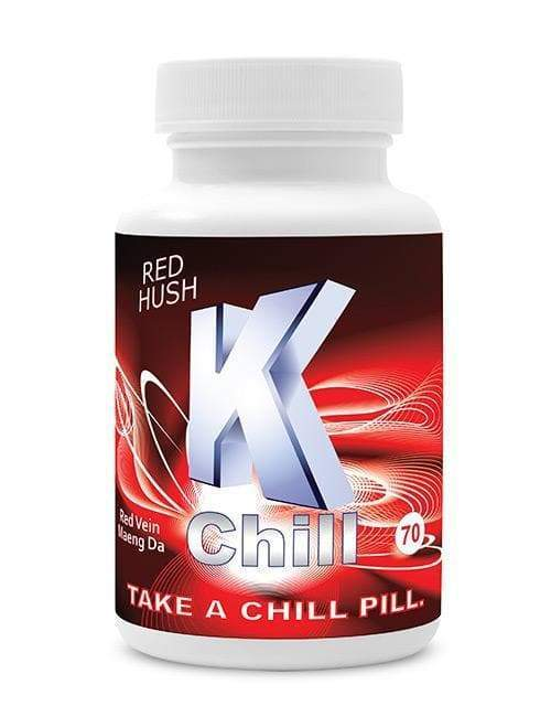 K-Chill Red 70ct Caps. Progressive Discounts Available! - KCD Store
