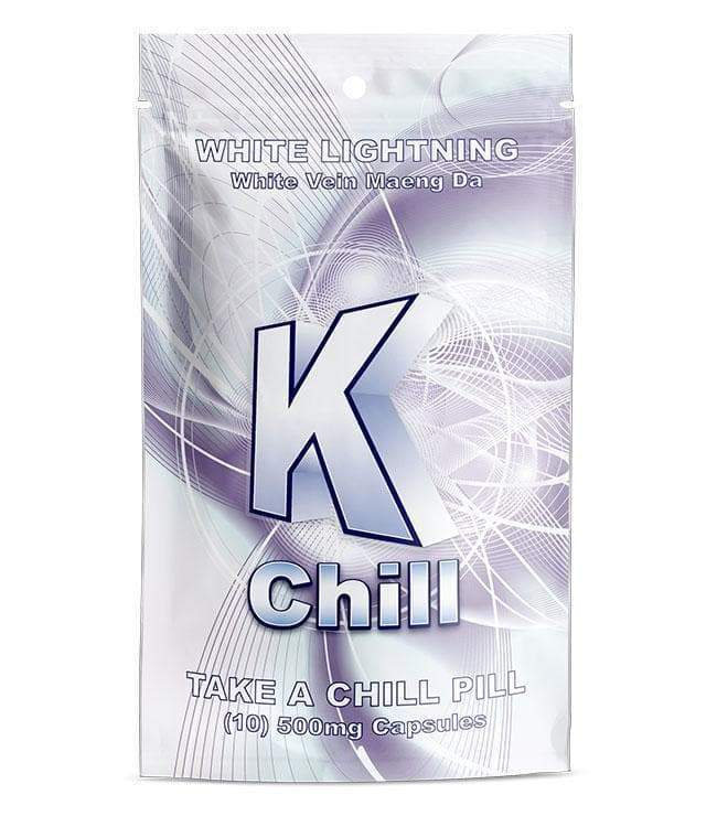 K-Chill White 10ct Capsules. Progressive Discounts Available! - KCD Store