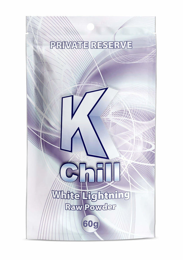 K-Chill White 60g Powder. Progressive Discounts Available! - KCD Store