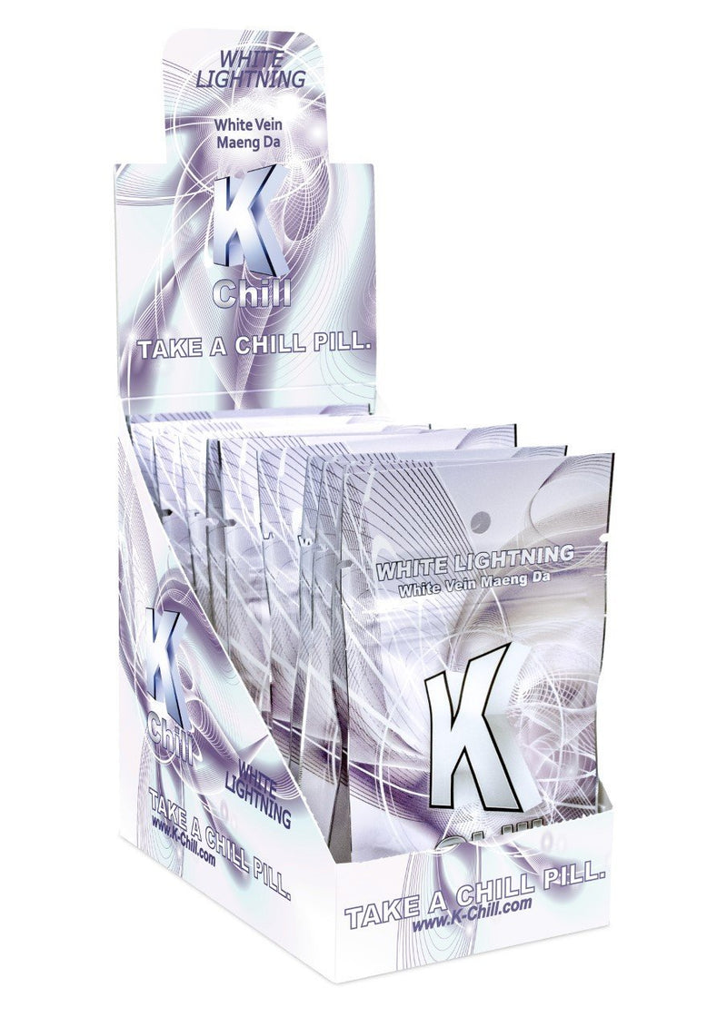 K-Chill White Capsules. 10 Caps Pack. Progressive Discounts Available! - K-Chill Direct