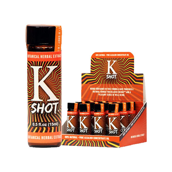 K-Shot Kratom Liquid Extract Shot 15ml - Progressive Discounts Available - K-Chill Direct