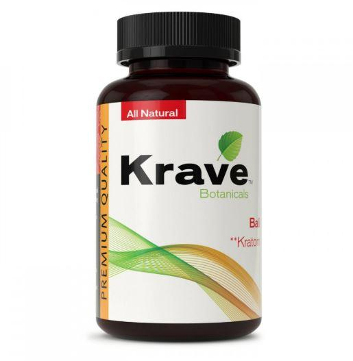 Krave Kratom Bali 500ct Capsules - Progressive Discounts Available - K-Chill Direct