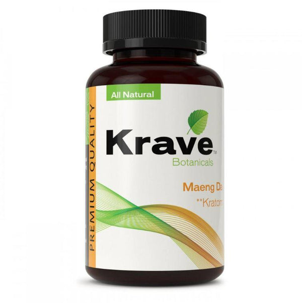 Krave Kratom Maeng Da 500ct Capsules - Progressive Discounts Available - K-Chill Direct