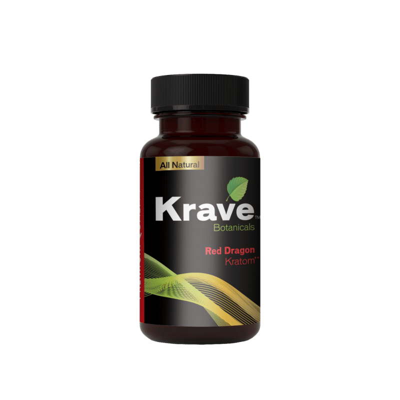 Krave Kratom Red Dragon 150ct Caps. Progressive Discounts Available! - K-Chill Direct