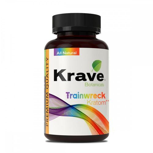 Krave Kratom Trainwreck 500ct Caps. Progressive Discounts Available! - K-Chill Direct