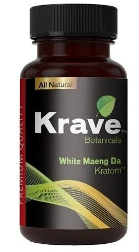 Krave Kratom White Maeng Da 500ct Caps. Progressive Discounts Available! - K-Chill Direct