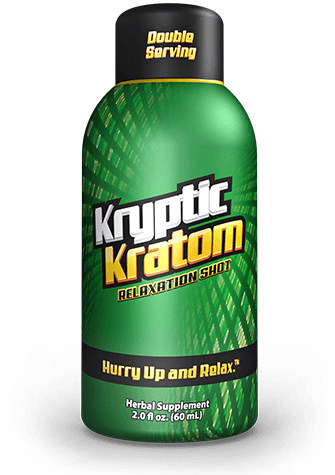 Kryptic Kratom Shots. Progressive Discounts Available! - KCD Store