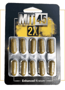 MIT45 10 Pack 2X Silver Capsules . Progressive Discounts Available! - K-Chill Direct