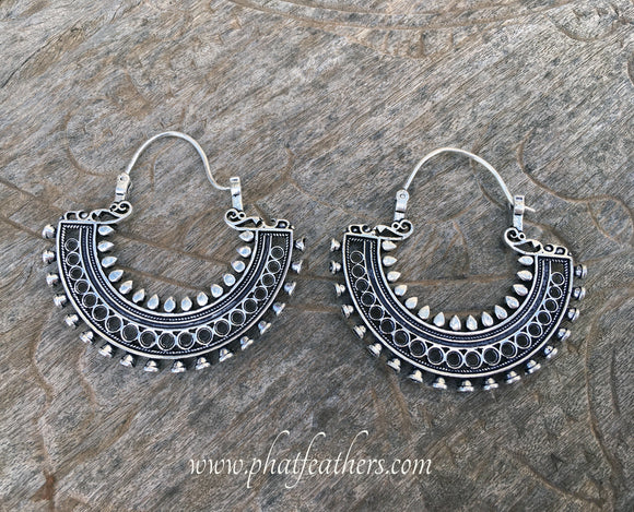 Mega Tribal Earrings
