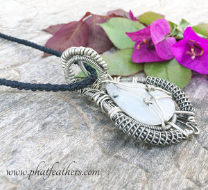 Mens Moonstone Necklace