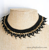 Macrame Choker Necklace
