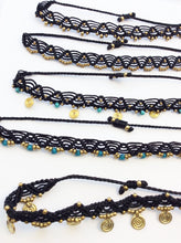 Load image into Gallery viewer, Macrame Anklets