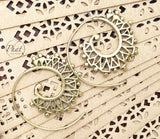 Intricate Spiral Earrings