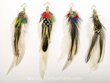 Load image into Gallery viewer, Single Feather Earrings