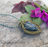 Mens Labradorite Necklace
