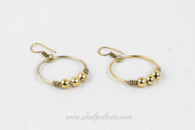 Load image into Gallery viewer, Dangle Hoop Earrings