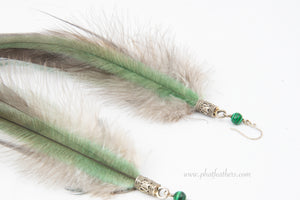 Luxurious Feather Earrings
