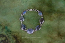 Load image into Gallery viewer, Labradorite Silver Bracelet