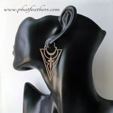 Silver Plated Tribal Earrings