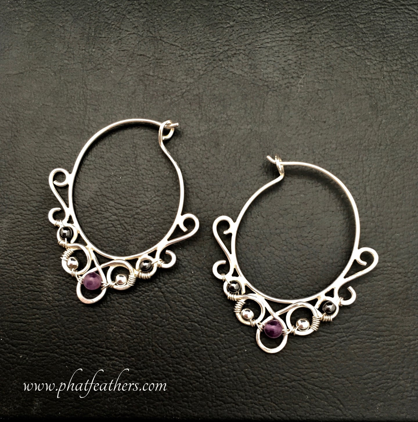 Delicate Silver Hoops