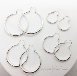 Thin Statement Hoops