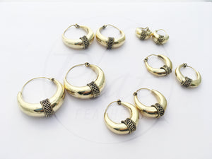 Pick Your Size Hoop Earrings