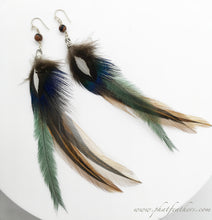 Load image into Gallery viewer, Boho Feather Earrings