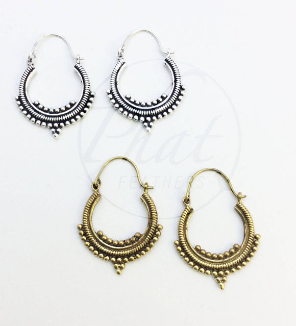 Baby Hoop Earrings