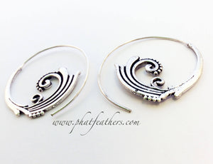 Indian Spiral Earrings