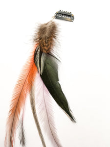 Ethical Feather Hair Clips