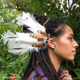 Tribal Feather Earcuff