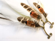 Load image into Gallery viewer, Tribal Feather Earcuff