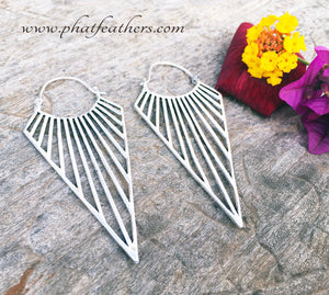 Linear Earrings Secure Clasp