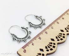 Load image into Gallery viewer, Mini Silver Earrings