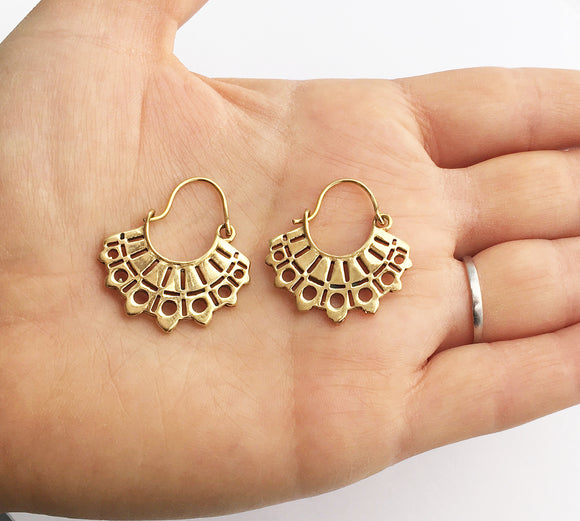 Tiny Tribal Hoops