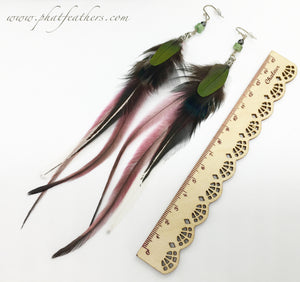 Parrot & Emu Earrings