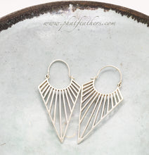 Load image into Gallery viewer, Silver Minimalist Earrings
