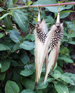 Emu Feather Earrings