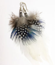 Load image into Gallery viewer, Spotty Feather Earrings