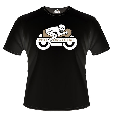 LA Motorcyclist Logo Short-Sleeve T-shirt