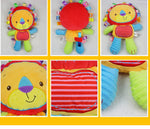 Plush Baby Toys Appease Infants Teddy Appease Towel Grasping Rattles