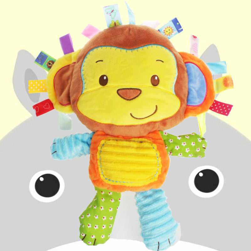 Colourful Tags Animals Soft Kids  Toys